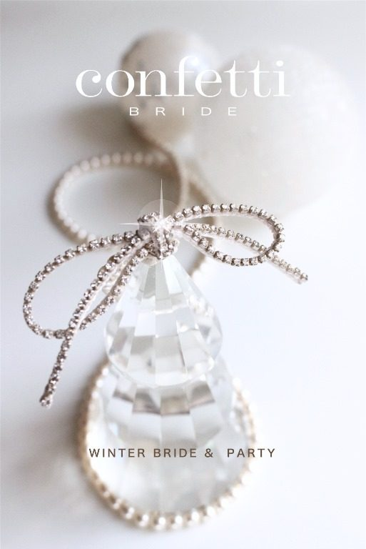 < confetti BRIDE > Winter Bride and Party