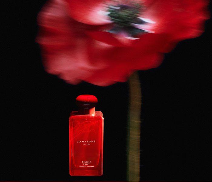 魅惑的な香りが誕生。「スカーレット ポピー コロン インテンス」1月8日(金)発売